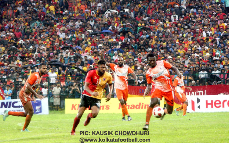EAST BENGAL <b><font color=red> 1-1 </b></font> TOLLY AGRAGAMI (HT/ABD.)