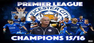 Licester City win EPL 2015-16