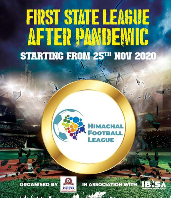 HIMACHAL FOOTBALL LEAGUE TO START FROM 25TH NOVEMBER - 12 TEAMS
