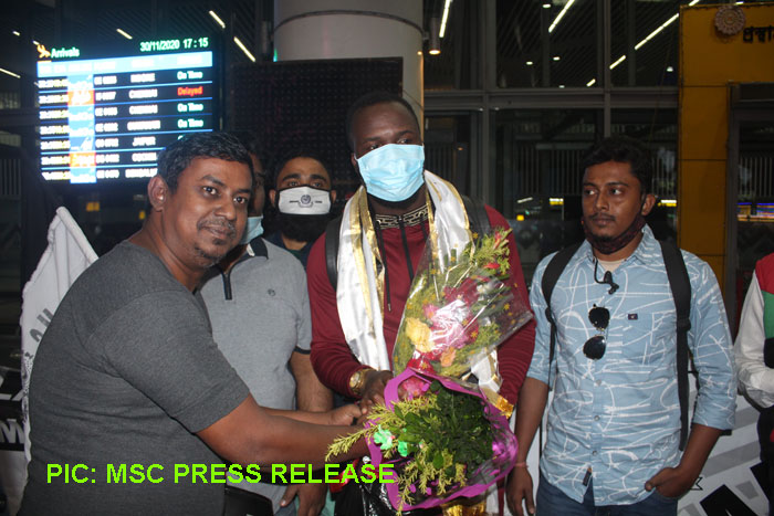 MSC : Ghanaian playmaker Mohammed Fatau has arrived in Kolkata