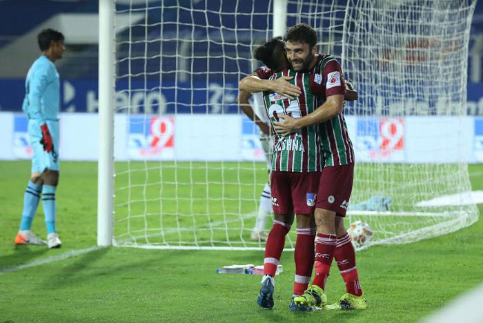 19/02/2021 (ISL: MATCH-99) : ATK MOHUN BAGAN <b><font color=red>3-1</b></font> SC EAST BENGAL (<b> FT.. </b>) <br>