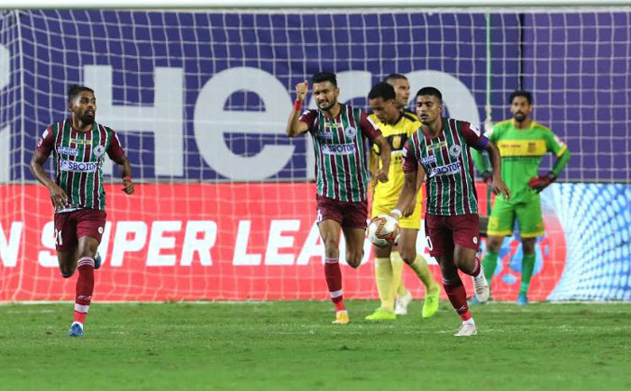22/02/2021 (ISL: MATCH-103) : HYDERABAD FC <b><font color=red> 2-2 </b></font> ATK MOHUN BAGAN  (<b>FT </b>) <br>