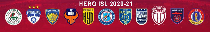 INDIAN SUPER LEAGUE LIVE SCORE 2020-21